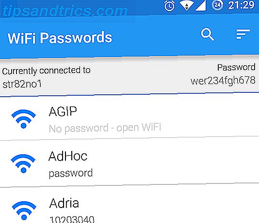 So zeigen Sie Kennwörter für gespeicherte Wi-Fi-Netzwerke unter Android an