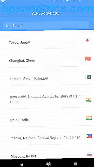 PolyTime, een nieuwe app van MakeUseOf, maakt het gemakkelijk om tijdzones over de hele wereld te vergelijken.  Hier is wat je ermee kunt doen en hoe het werkt.