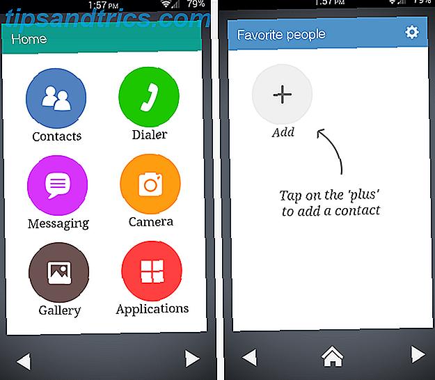 En av dina föräldrar eller farföräldrar har just fått en ny Android-telefon - och det är bara så förvirrande.  Det bästa sättet att hjälpa dem är att ladda ner en extremt enkel launcher.