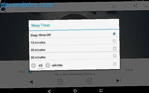 OverDriveAndroid-Hörbuch-Sleep-Timer