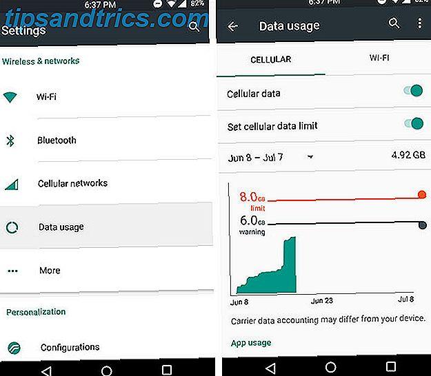 Comment utiliser moins de données (et économiser de l'argent sur votre facture de téléphone Android)