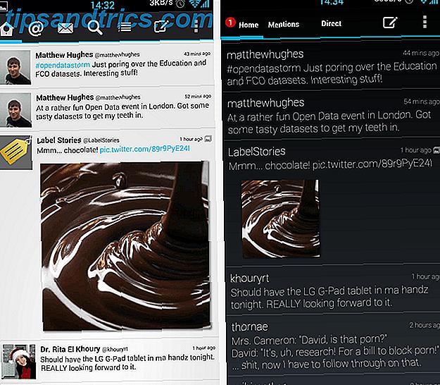 Tweetings, revu: l'un des meilleurs clients Twitter les plus personnalisables pour Android aujourd'hui