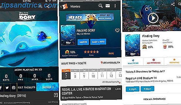 Si vous souhaitez rechercher des horaires de films sur votre téléphone ou votre tablette Android, vous devez choisir l'une de ces applications.