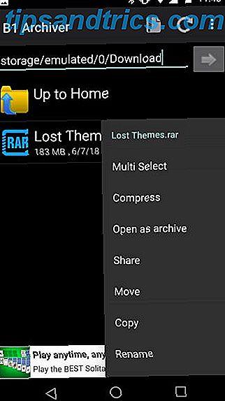 Il miglior estrattore di file RAR per Android