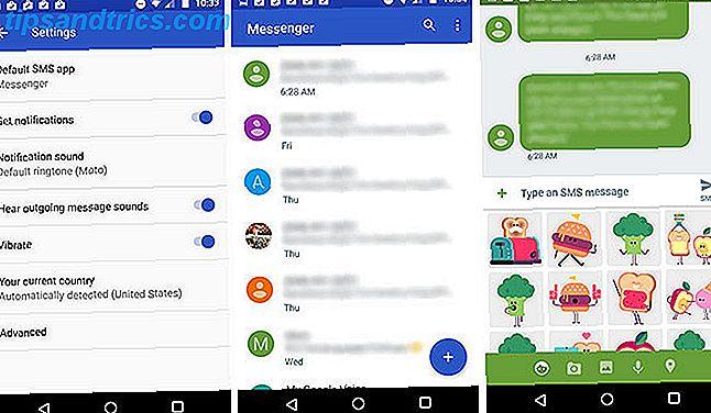 ¿No te gusta tu aplicación de SMS predeterminada?  ¡Prueba uno nuevo!