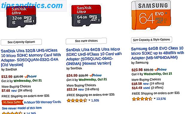 Nogle populære telefoner har ikke microSD-kortspor - men meget stadig gør det, og du har brug for en!