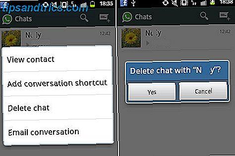 Hoe per ongeluk verwijderde WhatsApp-berichten te herstellen