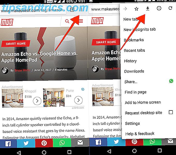Comment enregistrer des pages Web pour la visualisation hors connexion sur Android