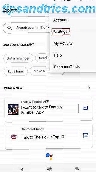 Sådan ændres stemmer til Google Assistant