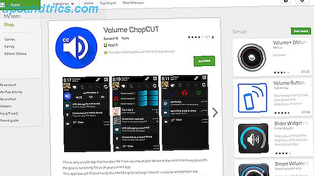 Ajustes de control de volumen para Android que necesita usar