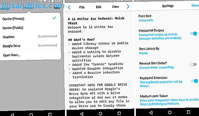 Faça um trabalho real no seu dispositivo Android usando um desses incríveis editores de texto.