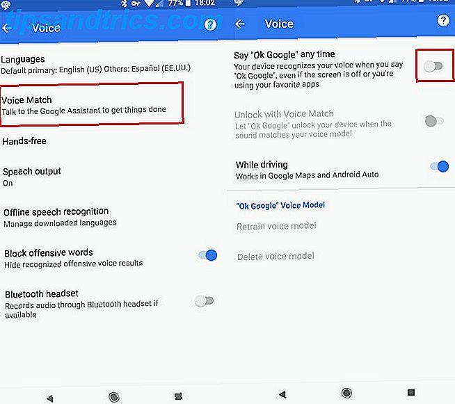 Πώς να Αποκλεισμός Google από την Ακρόαση στο Android