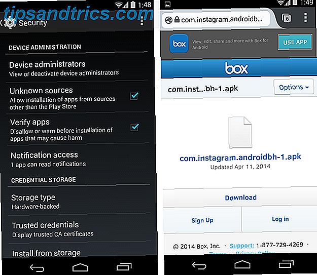 Vous voulez plusieurs comptes Instagram sur votre Android?  Essaye ça!