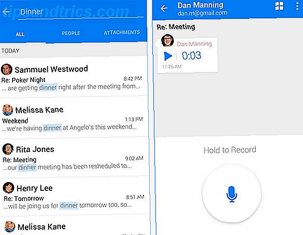 ¿Estás aburrido de la aplicación oficial de Gmail o quieres una mejor aplicación de correo electrónico para el proveedor de correo electrónico que tengas?  Esta es la lista para ti.