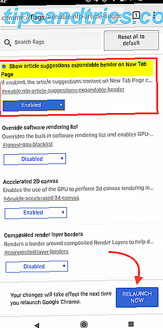"""Comment faire pour supprimer """"Articles pour vous"""" dans Chrome sur Android"""
