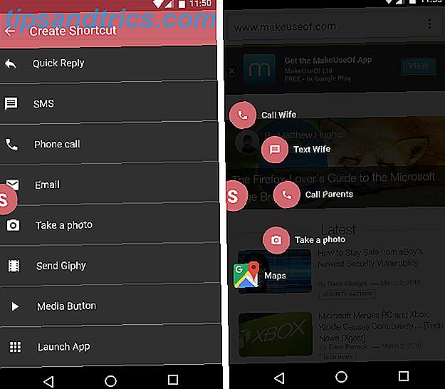 5 meilleures applications de raccourci Android pour un accès rapide à tout