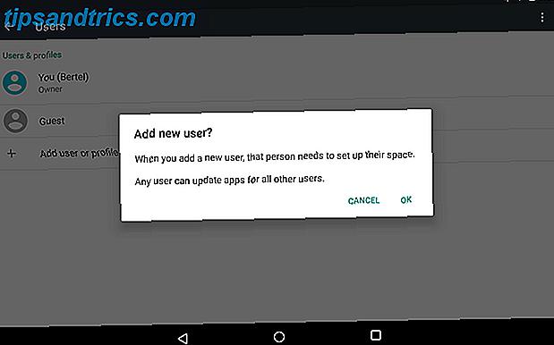 Så du vill dela en tablett mellan din familj eller rumskamrater - här gör du det för en mycket lättare process.