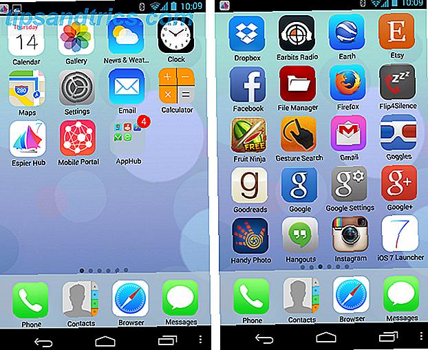 Profitez de l'iOS 7 Look sur n'importe quel appareil!