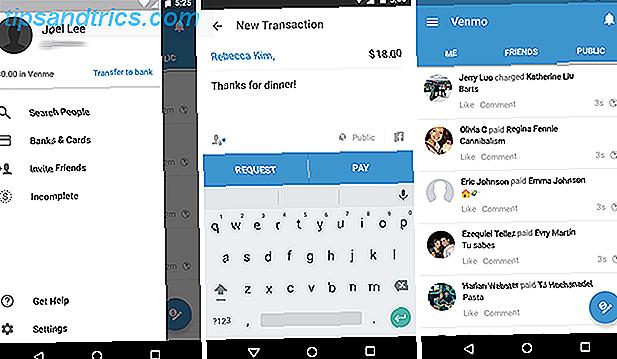 Vergeet het proberen om vrienden terug te betalen in contanten - dat is waar je een smartphone voor hebt!