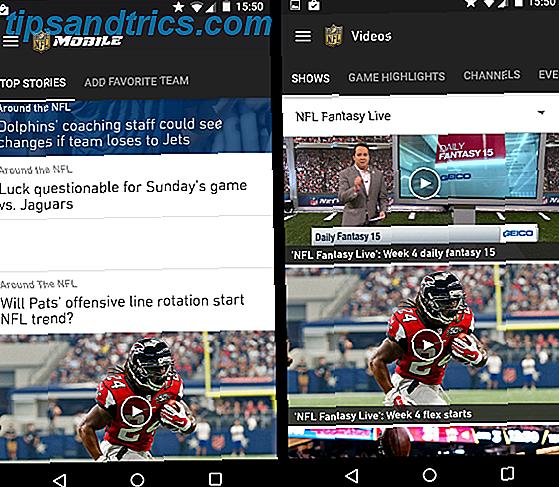 8 apps que todo amante de futebol precisa para a temporada 2015 da NFL