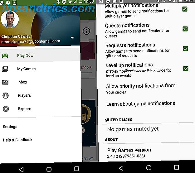 Grabe su pantalla en Android con los juegos de Google Play