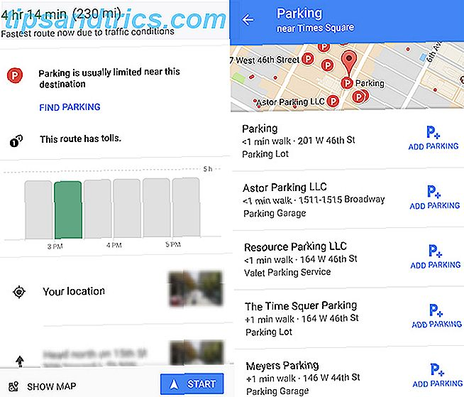 Comment trouver un parking à l'aide de Google Maps GoogleMaps Parking