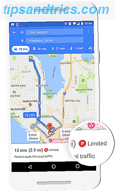 Comment trouver un parking en utilisant Google Maps ParkingDifficulty