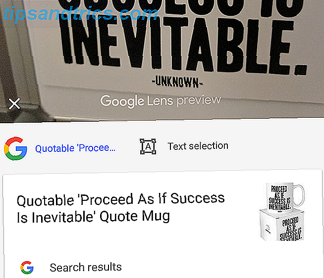 Google Lens Quote-mok