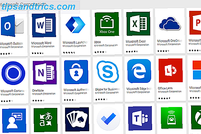 hoe android Windows-microsoft-apps werd