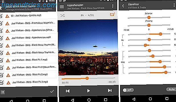 De 15 beste niet-streaming Android-muziekspeler-apps