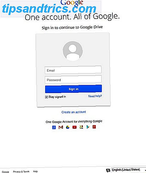 Fake GMail Login