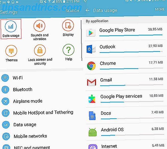 Comment suivre l'utilisation des données pour les applications Android individuelles