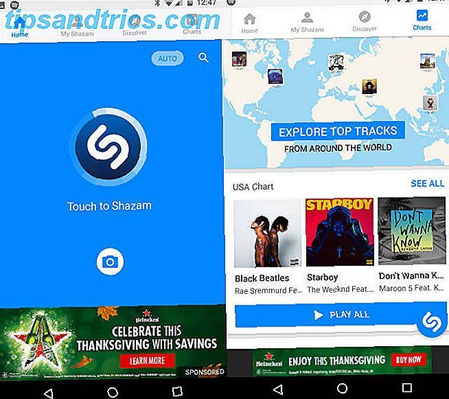 5 Android Music Recognition Apps im Vergleich: Wer hat die