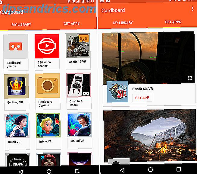 Als u een Google Cardboard heeft, moet u deze apps downloaden.