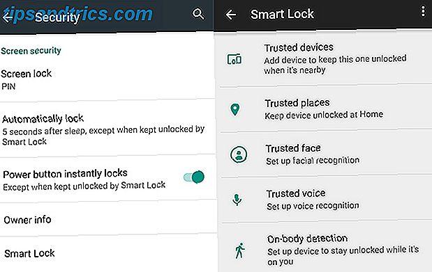Det är irriterande att alltid låsa upp din telefon, men det är osäkert att aldrig låsa det.  Tack och lov, det finns en bra mellanklass: Smart Lock.