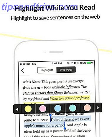 Gebruik deze web- en mobiele markeerstift om te onthouden wat u hebt gelezen