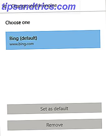 Comment changer le moteur de recherche dans Microsoft Edge (No More Bing)