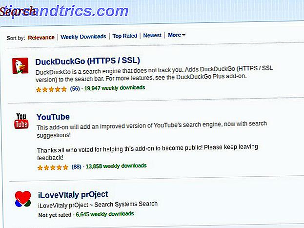 Verander het zoekvak van elke site in een Firefox-zoekmachine