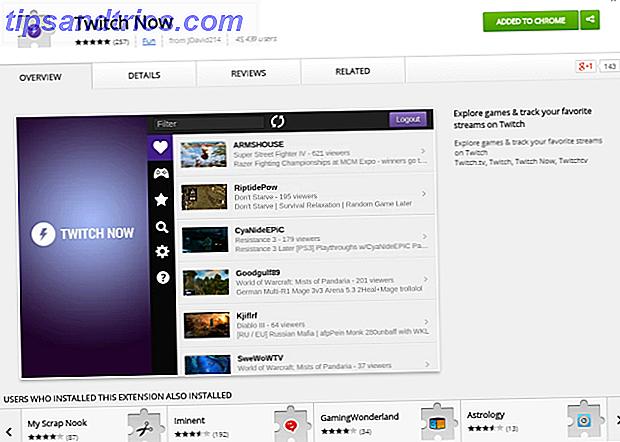 Twitch ist jetzt der beste Weg Twitch.tv in Google Chrome zu erleben