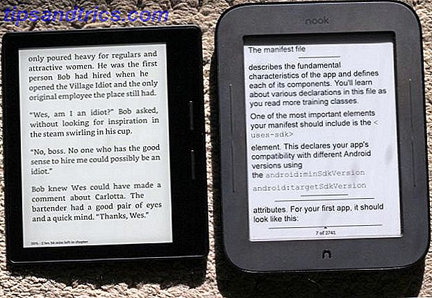 kindle oasis nook simple tactile comparaison