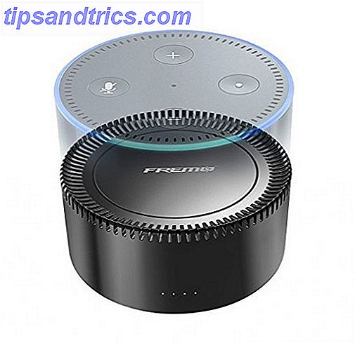 6 tragbare Amazon Echo (Dot) Batterien