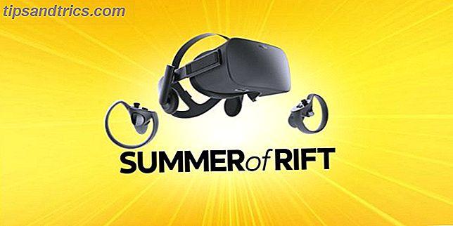 At komme i gang med virtuel realitet koster meget.  Heldigvis faldt VR-headsettet Oculus Rift (og dets Touch-controllere) til $ 399.  Det kan være en god tid at prøve VR.