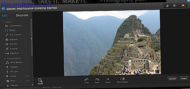 Wenn Sie die volle Leistung von Photoshop nicht benötigen - oder sich nicht leisten können -, kann Ihnen die kostenlose Express-Version von Adobe die nötige Bildbearbeitungsleistung geben.