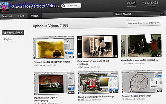 De 7 beste YouTube-kanalen om te bekijken voor Photoshop
