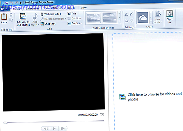 Windows-Movie-Maker-Interface