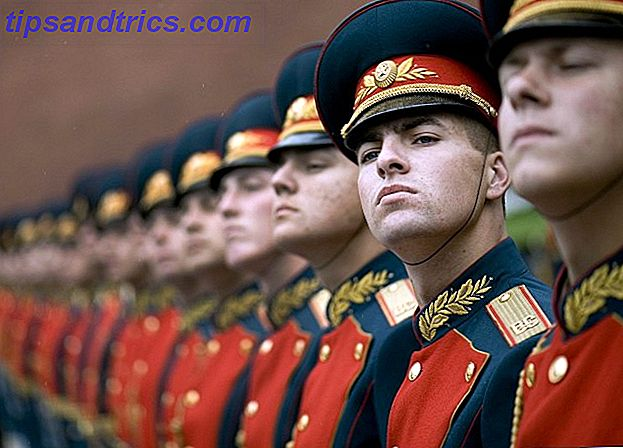 Guardia de Honor en Rusia