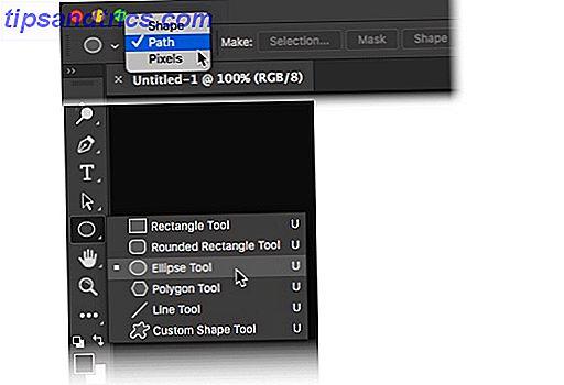 Kurvet tekst omkring en enkel form i Adobe Photoshop er en praktisk færdighed at vide.  Du kan f.eks. Oprette et cirkulært logo med en eller anden tekst, der omgiver den.