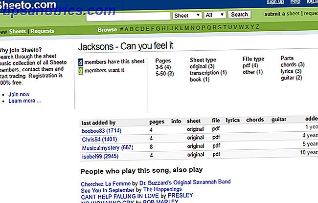 Wonderbaar Top 7-sites om gratis bladmuziek te zoeken en af te drukken JG-35