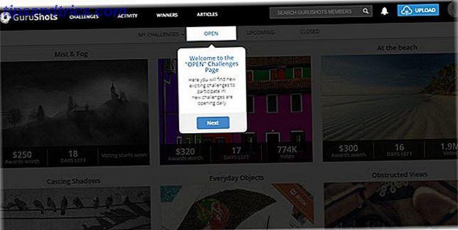 Denna roliga fotoutmaningswebbplats har mentorer som hjälper dig att förbättra
