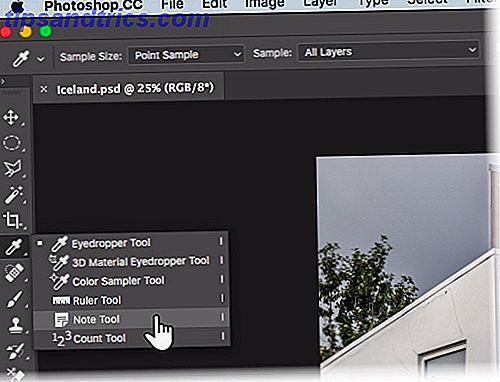 Cómo utilizar la herramienta Notas de Photoshop a su ventaja